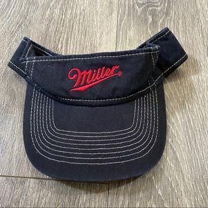Vintage miller visor one size adjustable